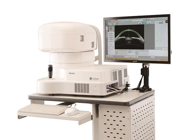 前眼部3次元解析装置(トーメー社 CASIA2)