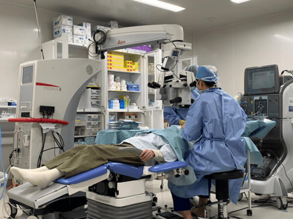 写真:手術風景